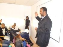 Mubarik Abdirahman hos Siman Kunskaps- och Idrottsförening