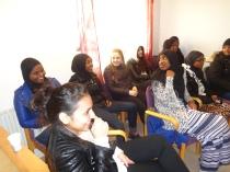 Siman föreläsning om droger, skolan och jämställdhet april 2015
